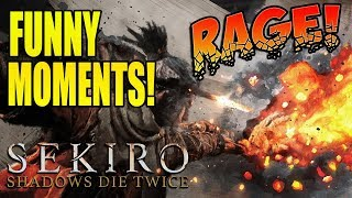 TRY NOT TO LAUGH! Sekiro Funny Rage Montage!