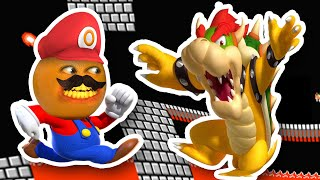 JELLY BOWSER RAGE QUIT!!!   Jelly Mario Bros #2