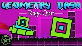 ANOTHER IMPOSSIBLE GAME - Geometry Dash   Rage Quit