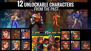 Streets of Rage 4: Retro Character Reaction