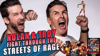 Nolan North and Troy Baker Fight Through the Streets of Rage