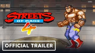 Streets of Rage 4 - Official Retro Reveal Trailer